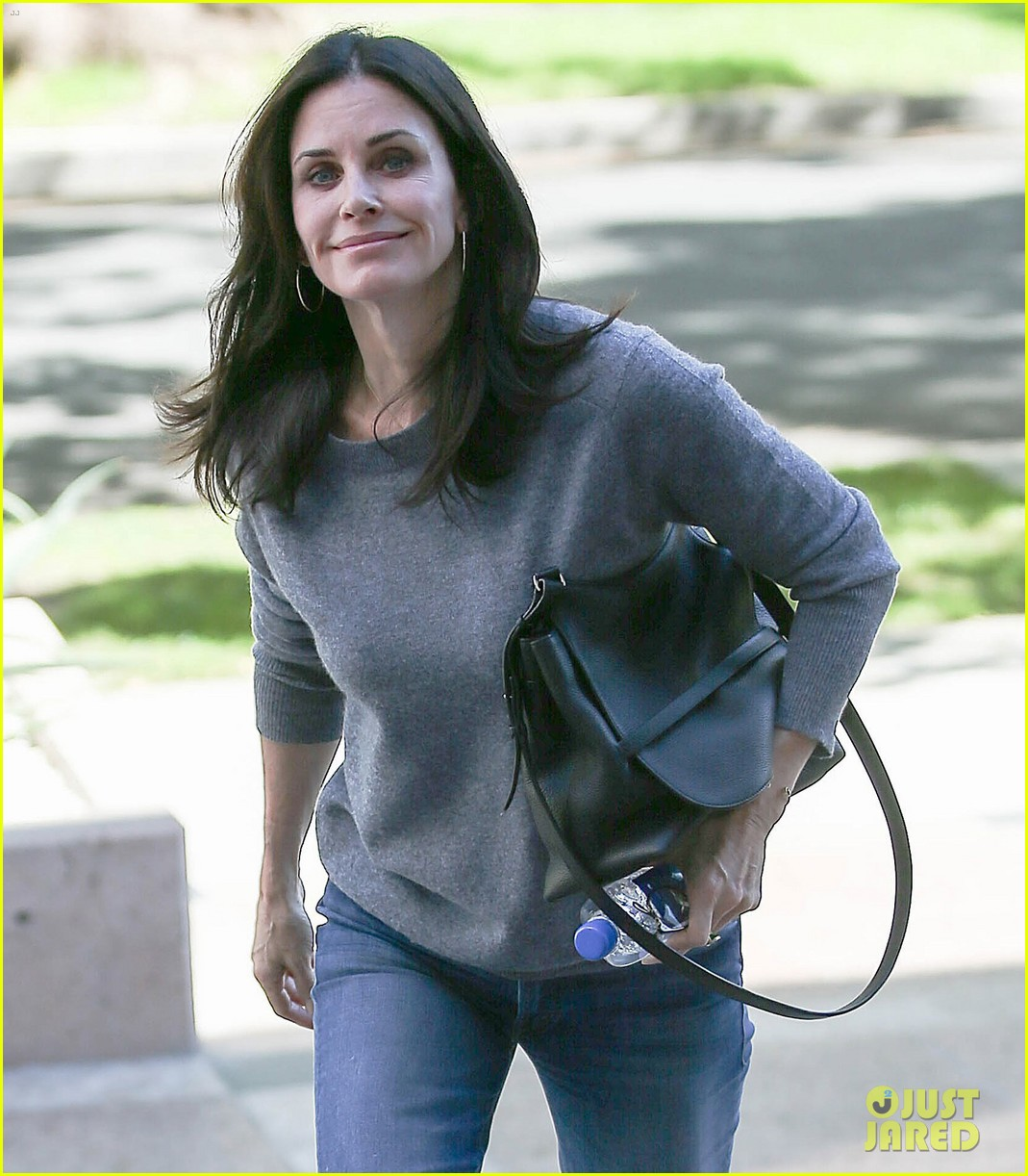 Courteney Cox & Fiance Johnny McDaid Grab Lunch in WeHo ...