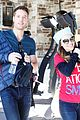 darren criss goes skiing for operation smile 12