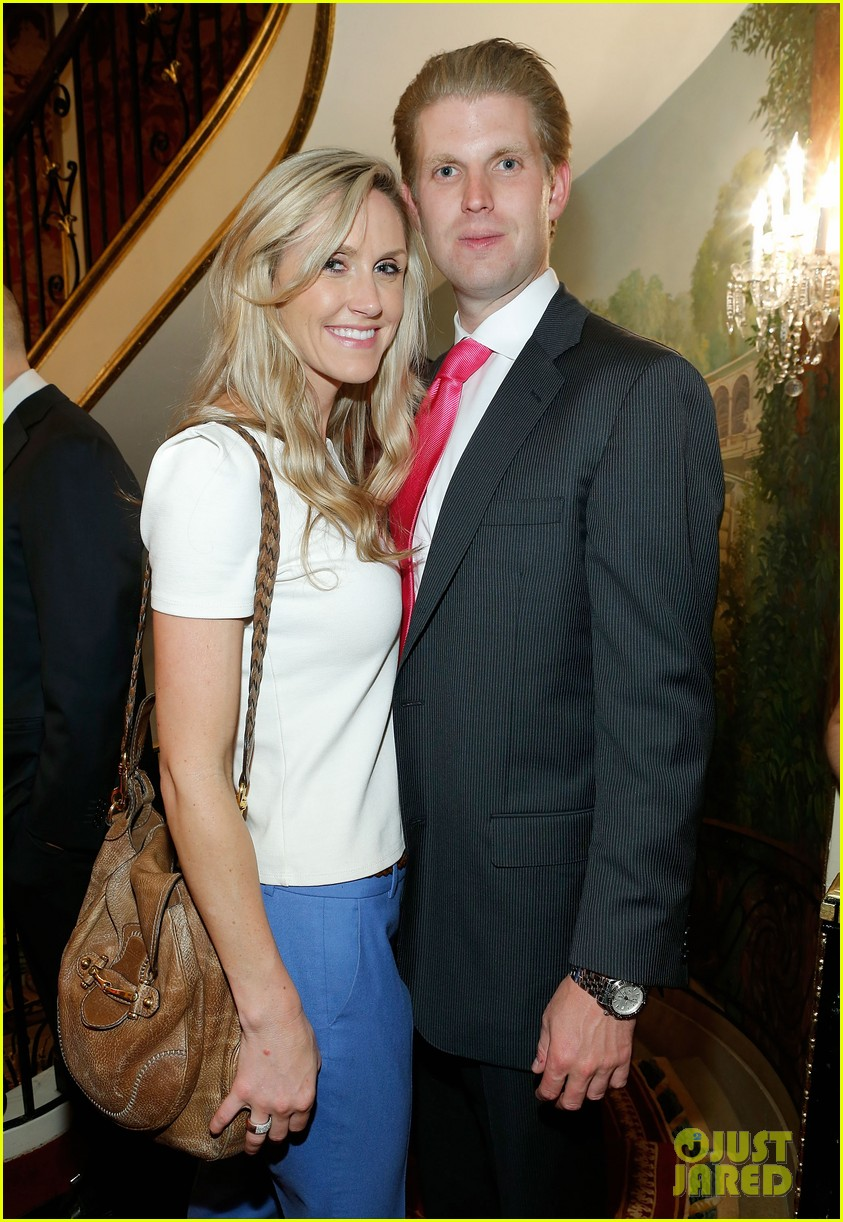 Eric Trump Expecting First Child With Wife Lara Photo