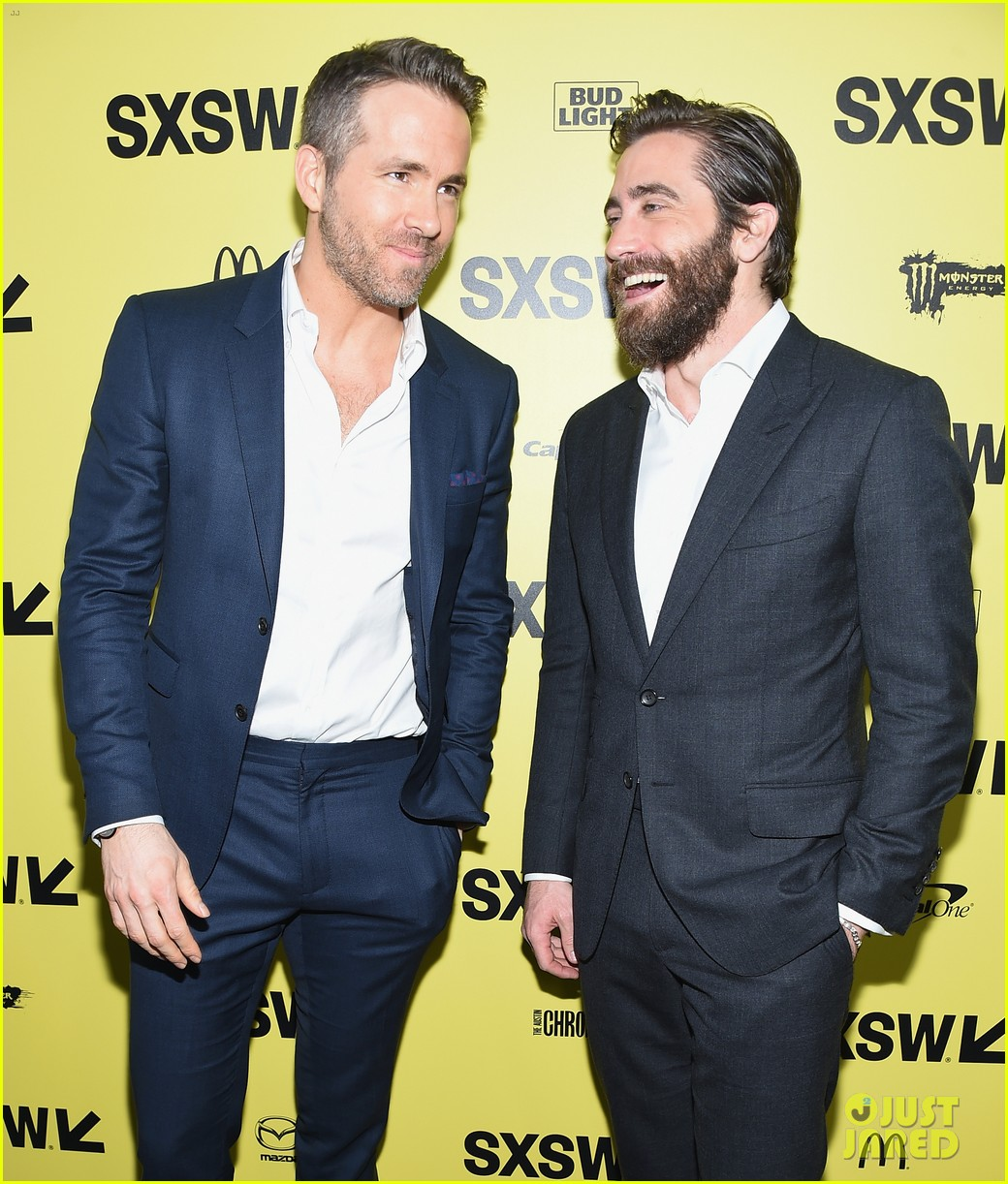 ryan jake suit up for life premiere at sxsw festival 043875856