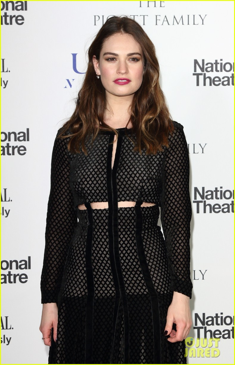 Photo of lily james si...