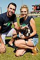 kate justin host pet adoption event 07