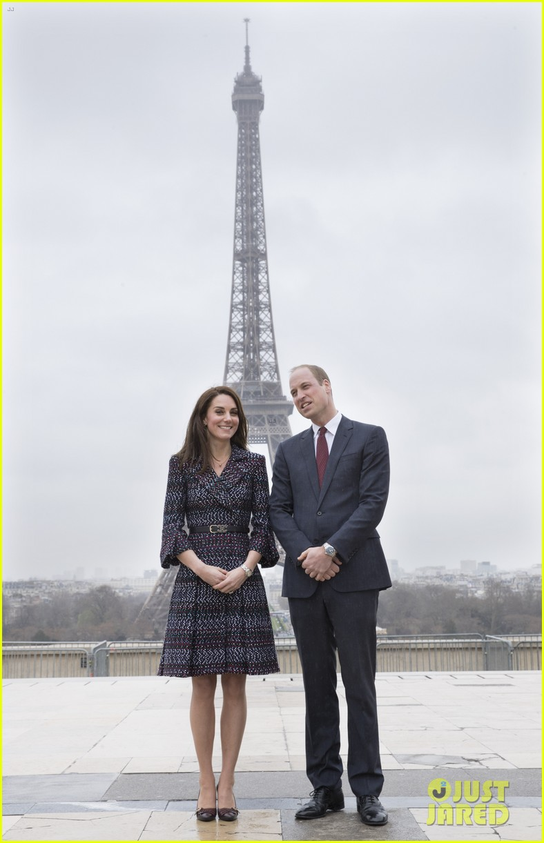 kate middleton prince william join rugby team eiffel tower 243875732