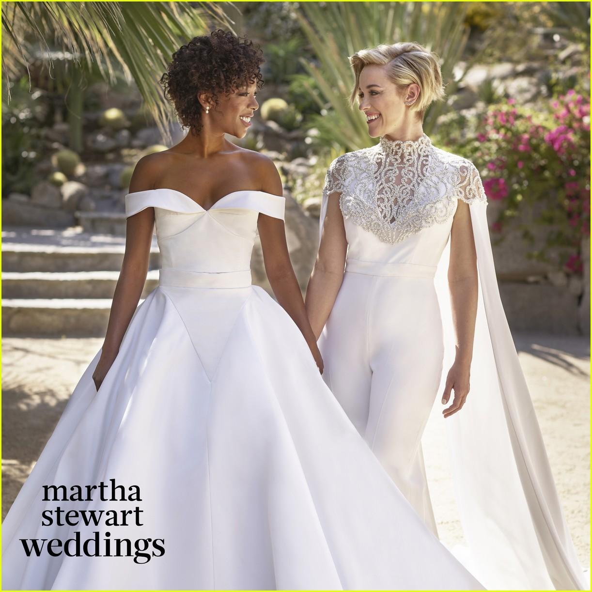 Full Sized Photo Of Samira Wiley Lauren Married Wedding Photos 01