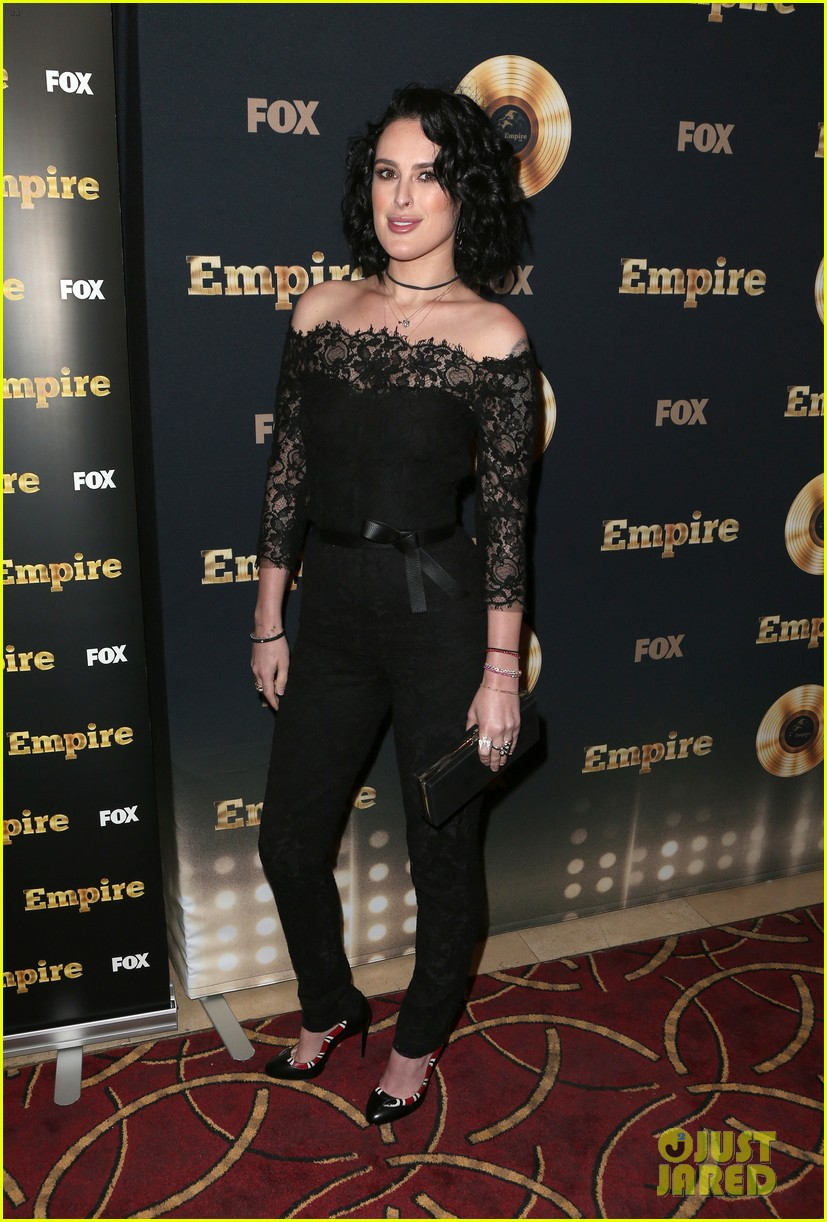 rumer willis celebrates her first empire episode at l a premiere 053876881