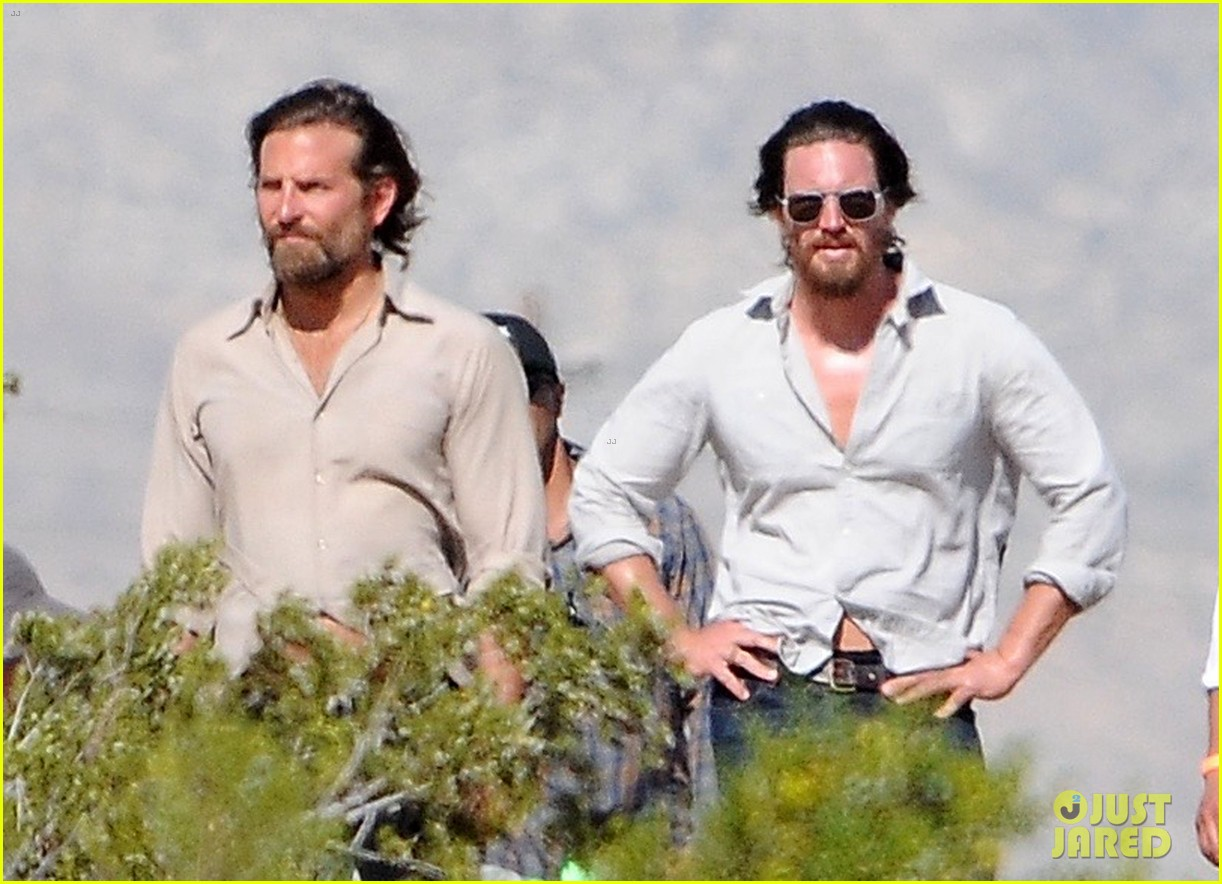 bradley cooper films a star is born alongside lookalike body double 013888781