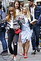 hilary duff and sutton foster cant stop smiling on younger set 03