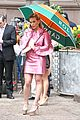 hilary duff rocks retro looks while filming younger 05