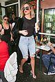 kim khloe kourtney kardashian step out for frozen yogurt 03