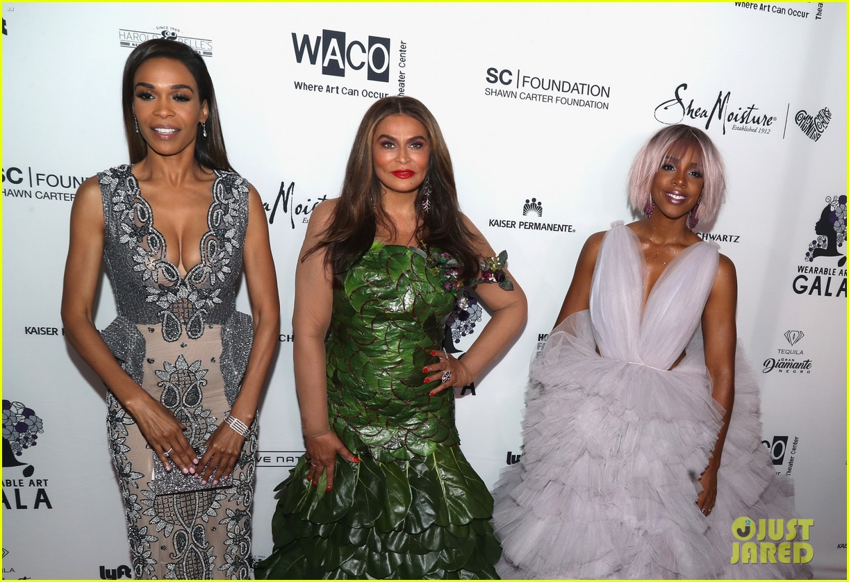kelly rowland michelle williams tina knowles wearable art 033892185