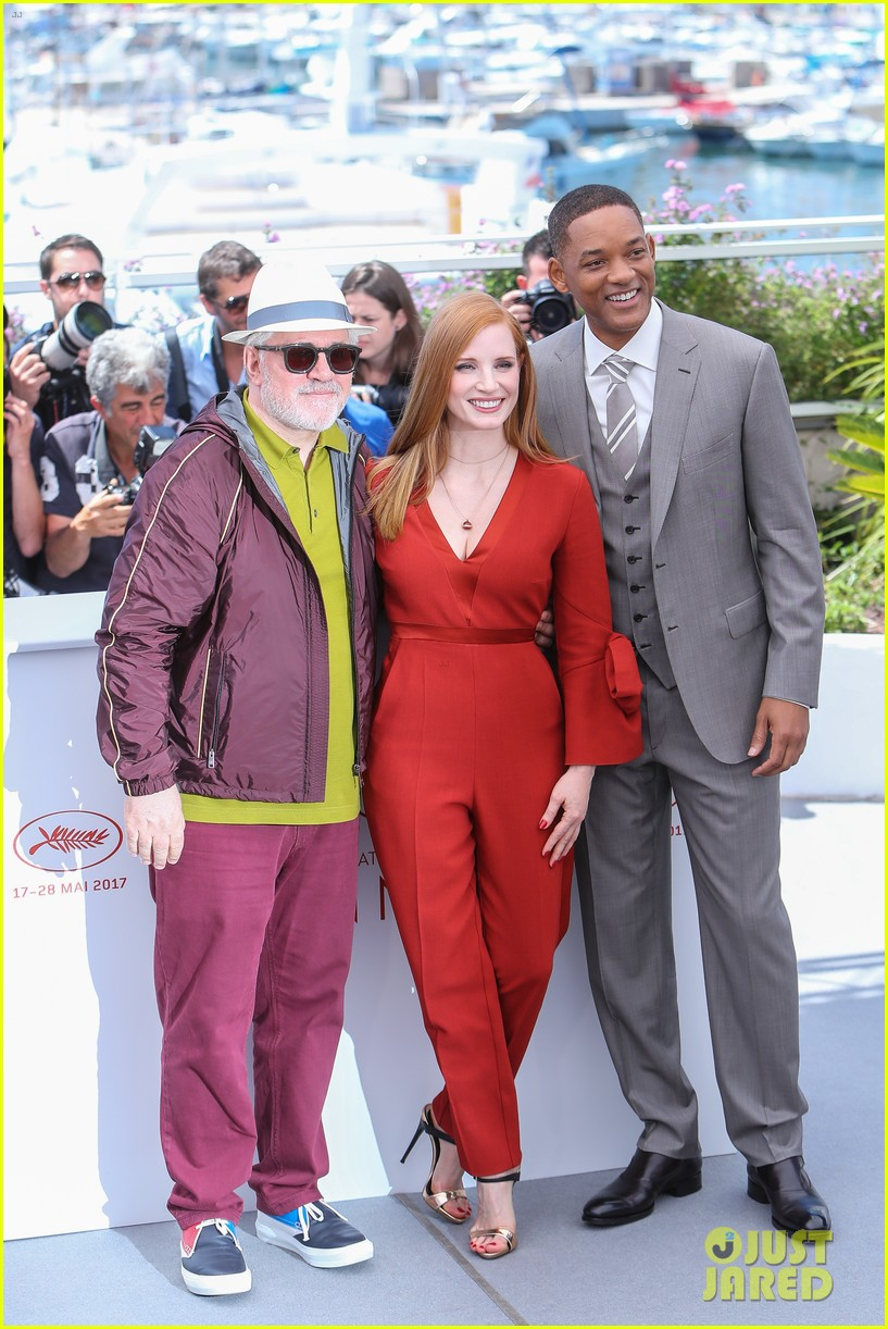 will smith jessica chastain cannes jury photo call 053900187