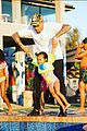 chris brown celebrates royalty third birthday pool party 01