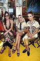 dakota johnson brings her sisters to gucci fashion show 01