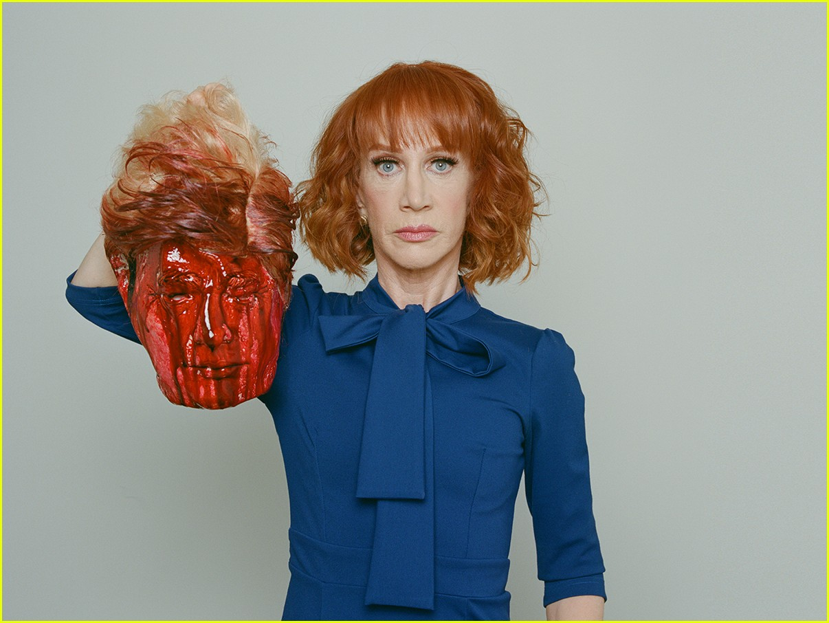kathy griffin beheads donald trump in graphic photo shoot 023907112
