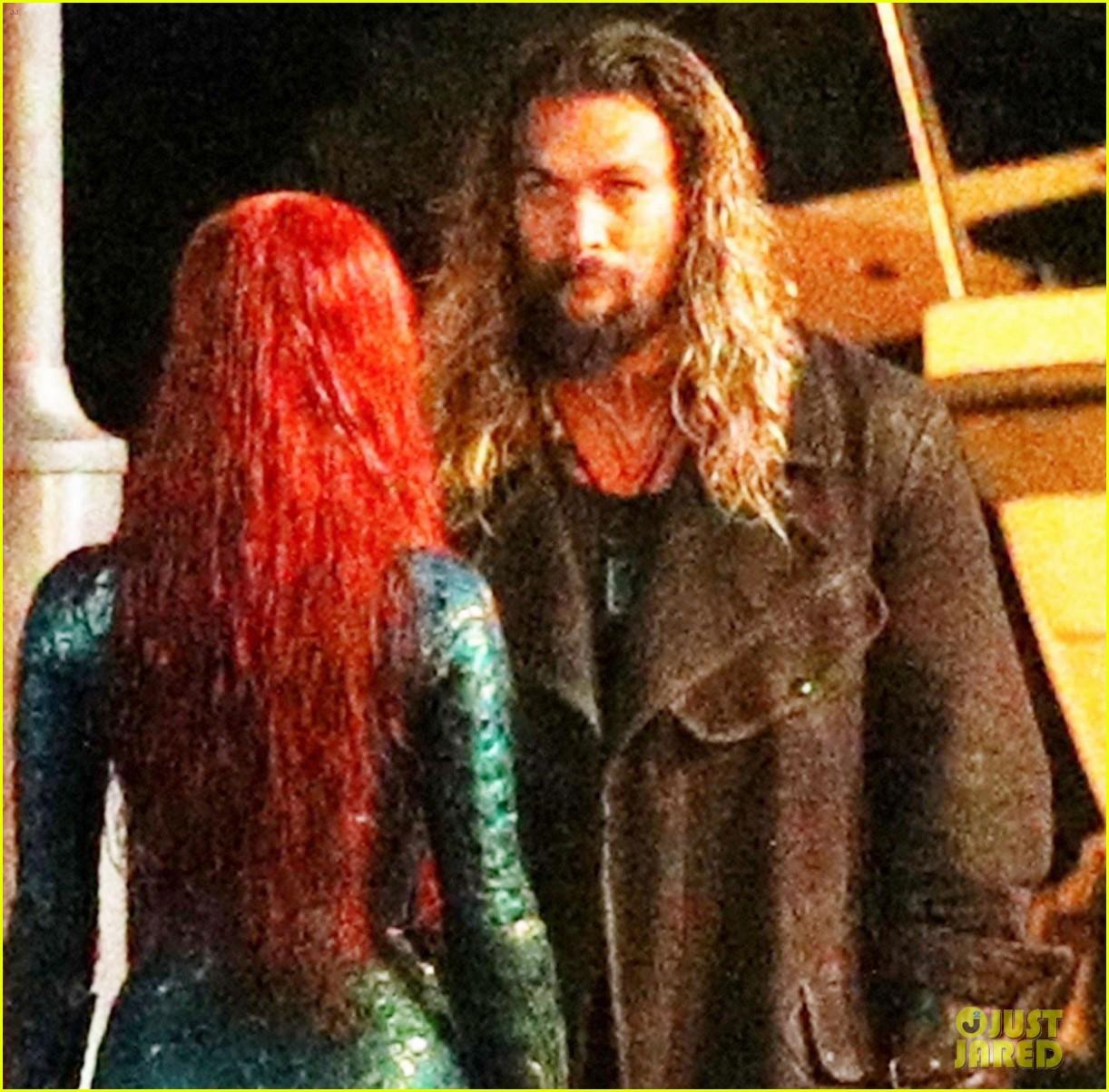 Aquaman Jason Momoa Mera Aquaman S Wifey Amber Heard: Jason Momoa & Amber Heard