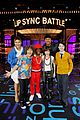 stranger things cast face off lip sync battle 03
