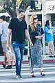 amy adams and husband darren le gallo couple up for dinner date 02