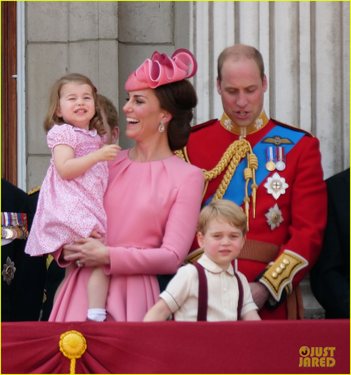 Prince George & Princess Charlotte Are So Cute At Queen