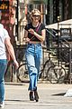 gigi hadid keeps it casual for lunch date 01