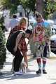 joe jonas shows his puppy love during lunch with dnce 02