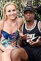 lindsey vonn boyfriend kenan smith couple up at a pool party 03