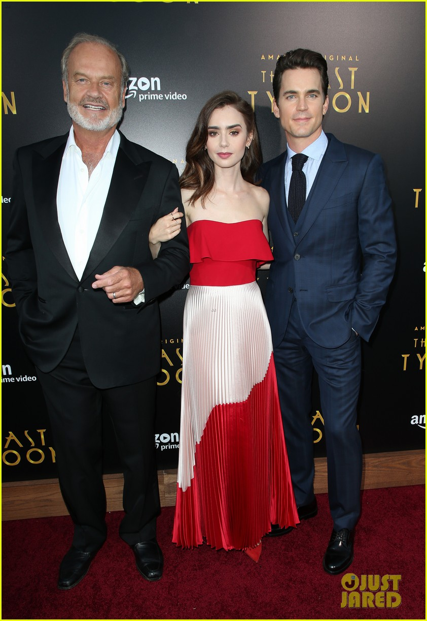 matt bomer lily collins the last tycoon premiere 033934879