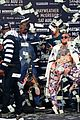 conor mcgregor goes shirtless during press conference with floyd mayweather jr 27