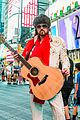 billy ray cyrus performs as still the kings burnin vernon brown in times square 10