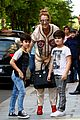 celine dion her twin boys pose for cute photos in paris 05