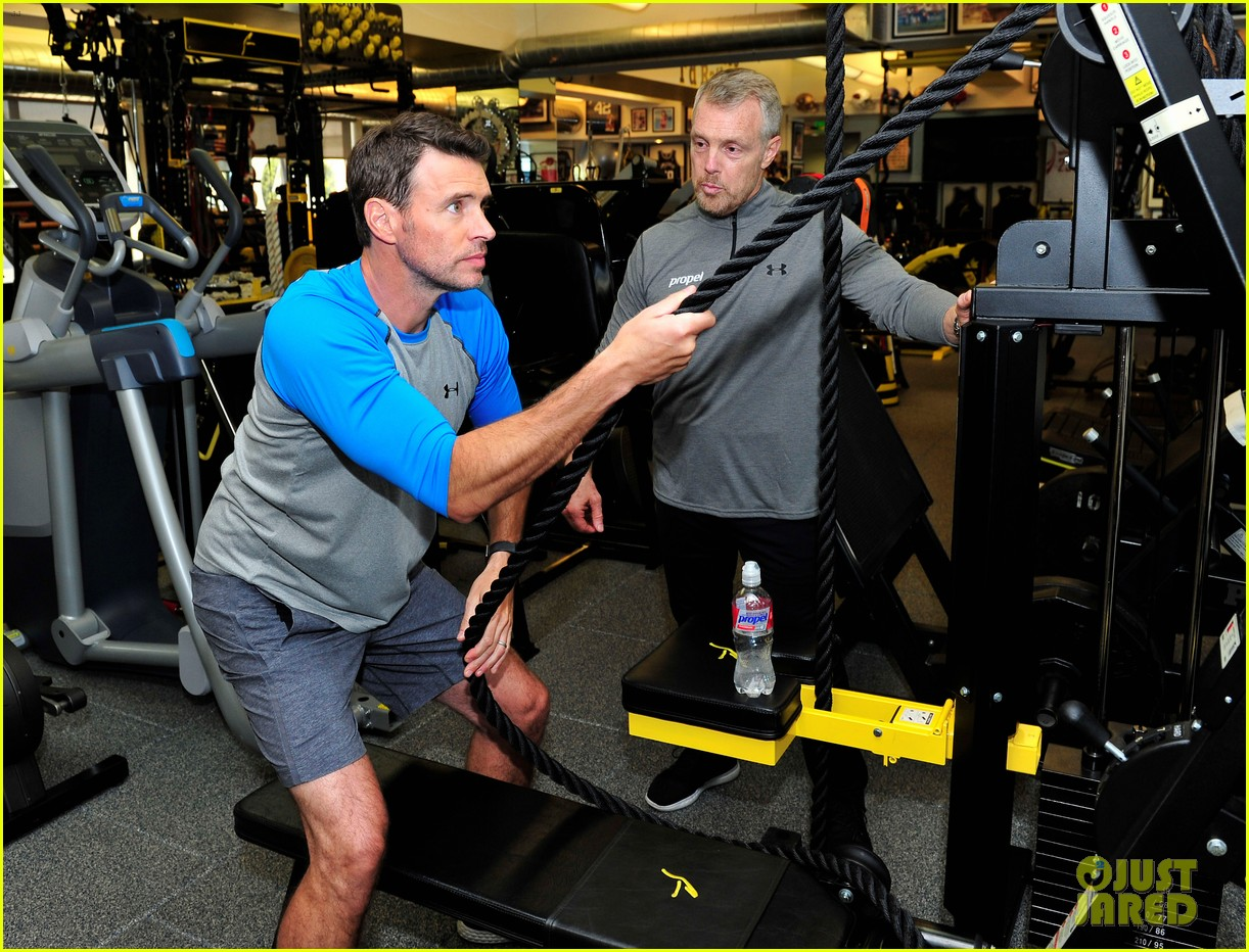 scott foley takes us into his workout with gunnar peterson 133933880