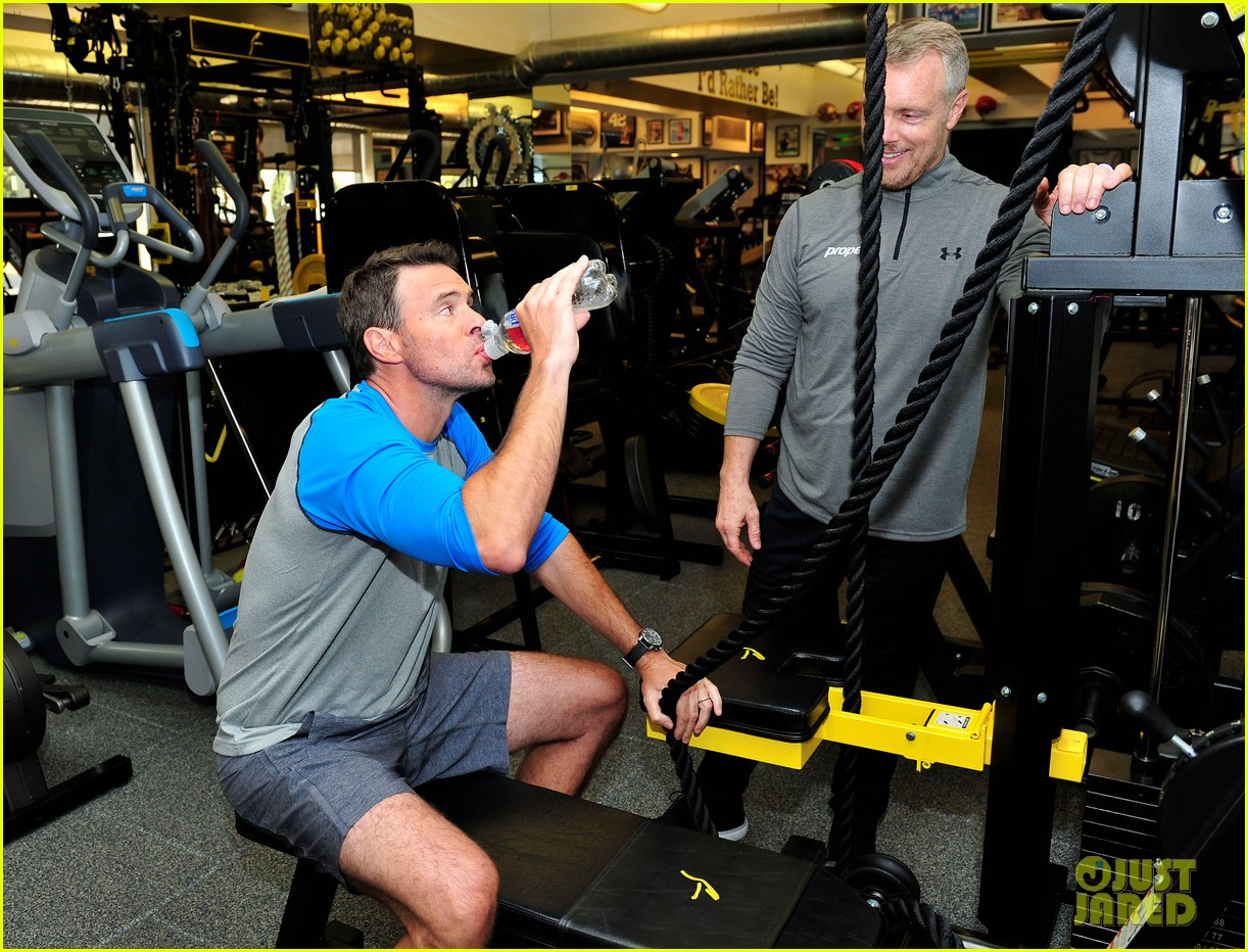 scott foley takes us into his workout with gunnar peterson 163933883