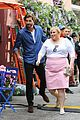 liam hemsworth rebel wilson film isnt it romantic in nyc 07