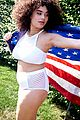 ireland baldwin models swimsuits for july 4th beach shoot 14