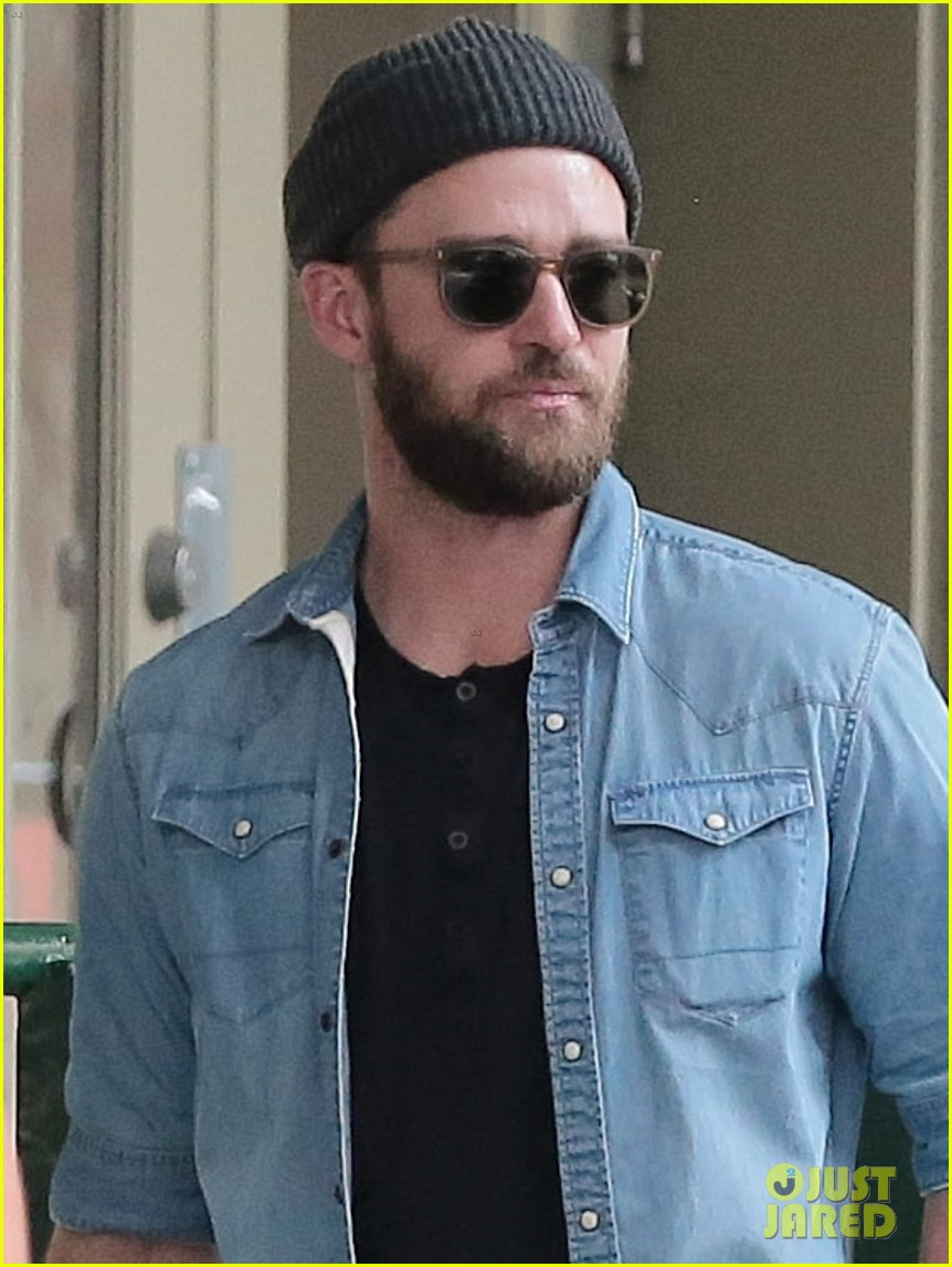 justin timberlake goes incognito for lunch in nyc photo