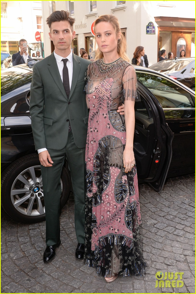 brie larson fiance alex greenwald couple up in paris for valentino 013924174