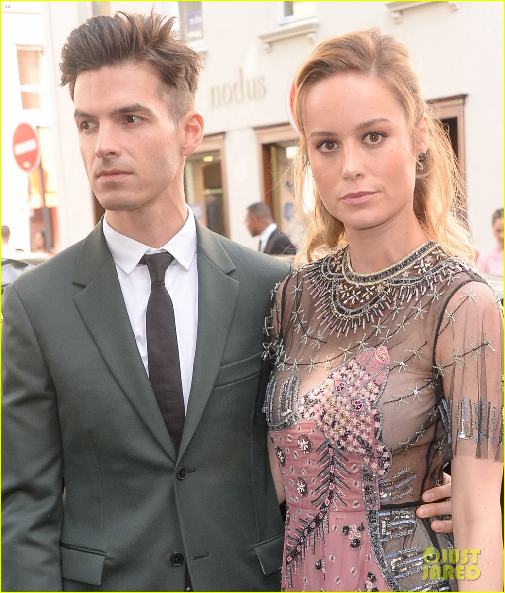 brie larson fiance alex greenwald couple up in paris for valentino 063924179