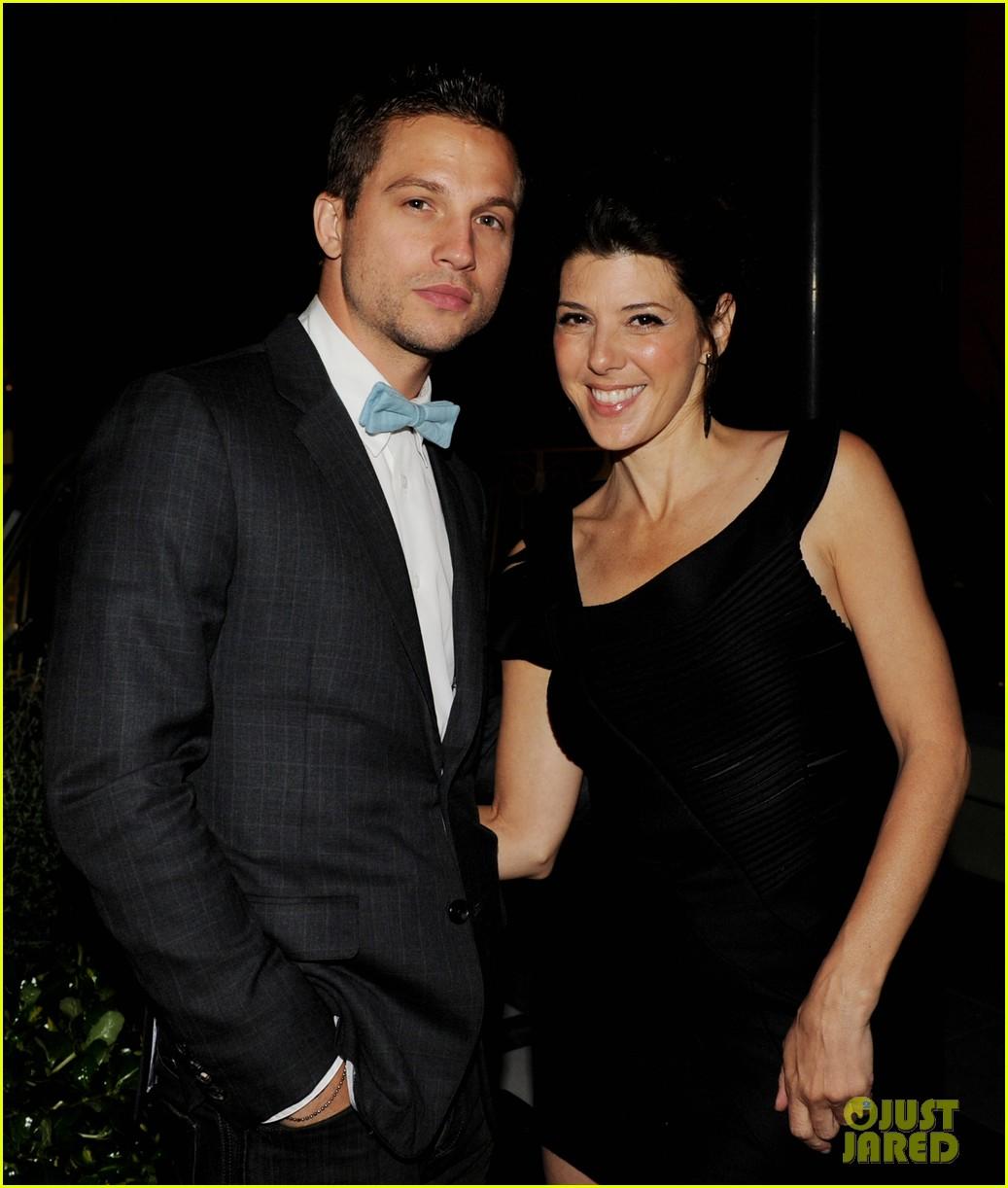 spider mans marisa tomei logan marshall green were once a couple 043924511