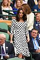 kate middleton debuts short haircut at first day of wimbledon championships 07
