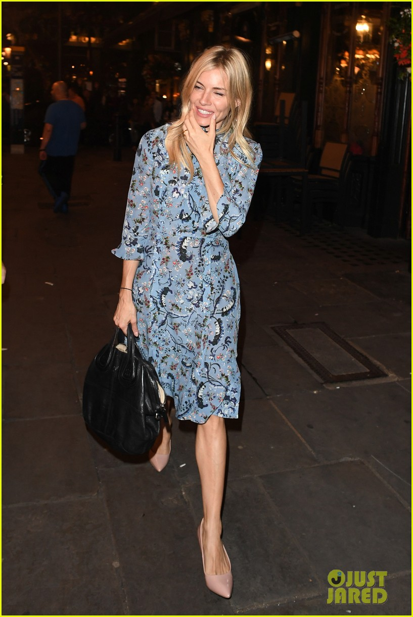 sienna miller steps out for dinner in london 043932018