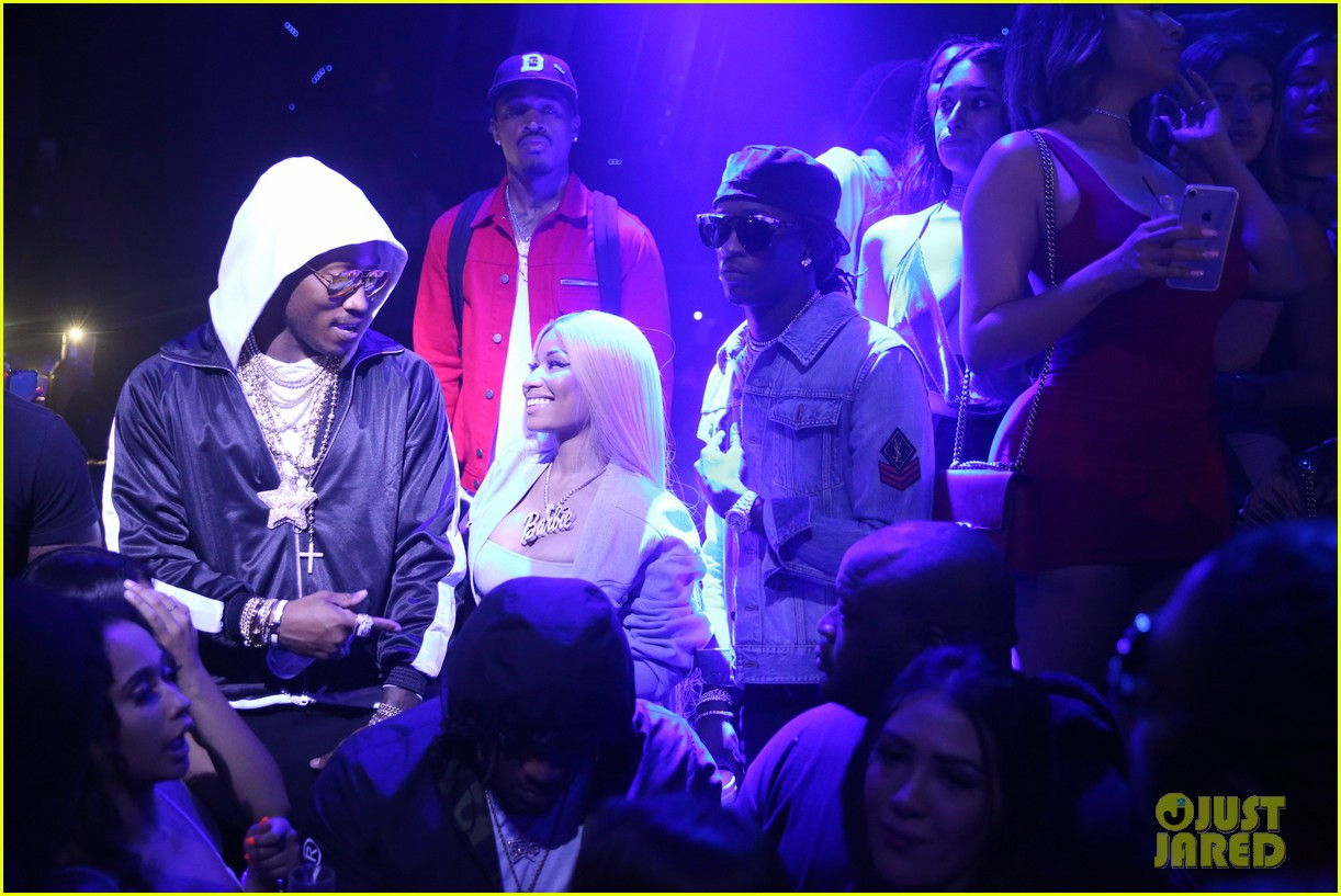 nicki minaj lives it up with future young thug in miami 053935875