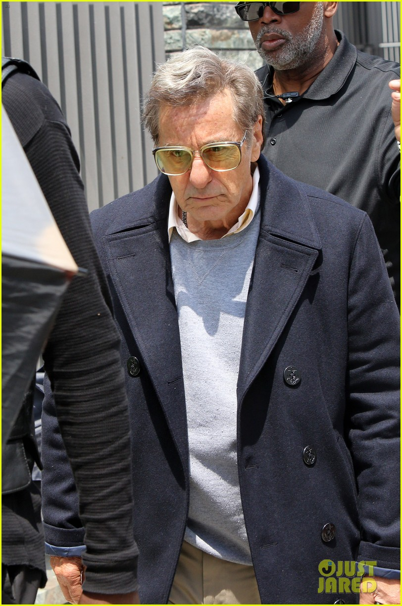 al pacino seen in character as joe paterno on sun valley set 053929438
