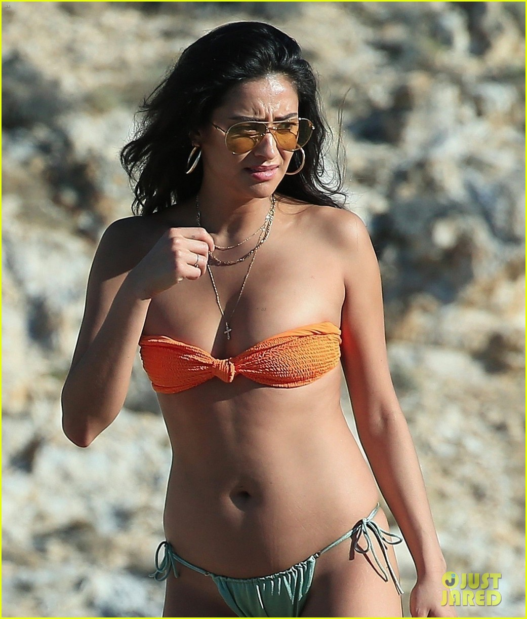shay mitchell goes topless at the beach in greece 043923564