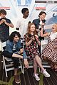stranger things cast at comic con 2017 26