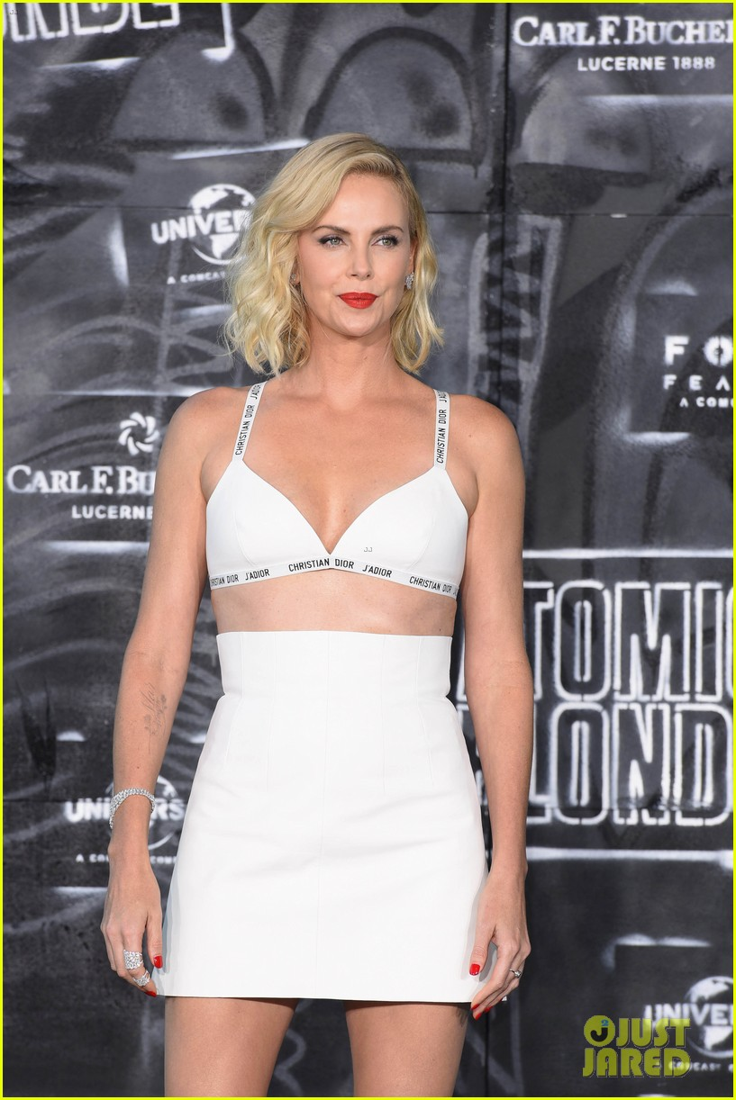 Charlize Theron and Sofia Boutella Atomic Blonde World Premiere