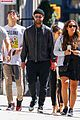 justin timberlake keeps a low profile while out with friends 01