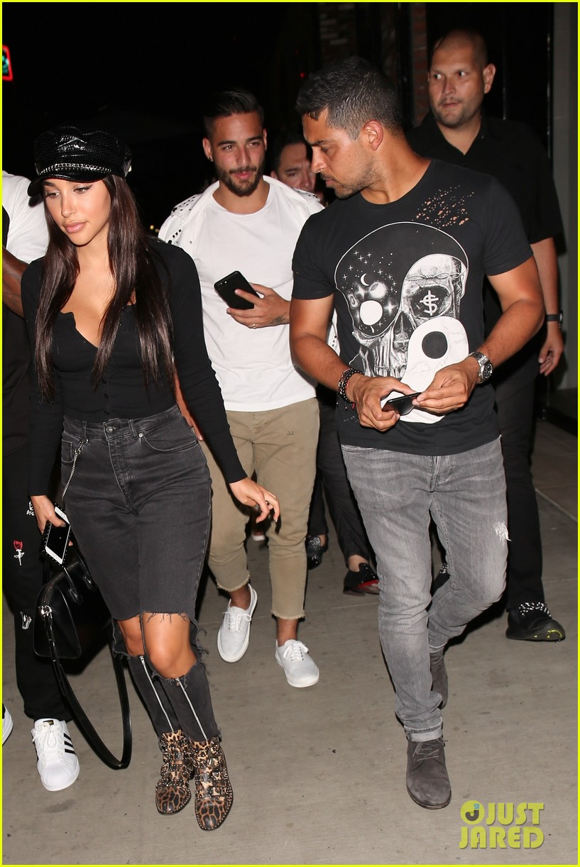 wilmer valderrama and chantel jeffries have night out at tao 013929681