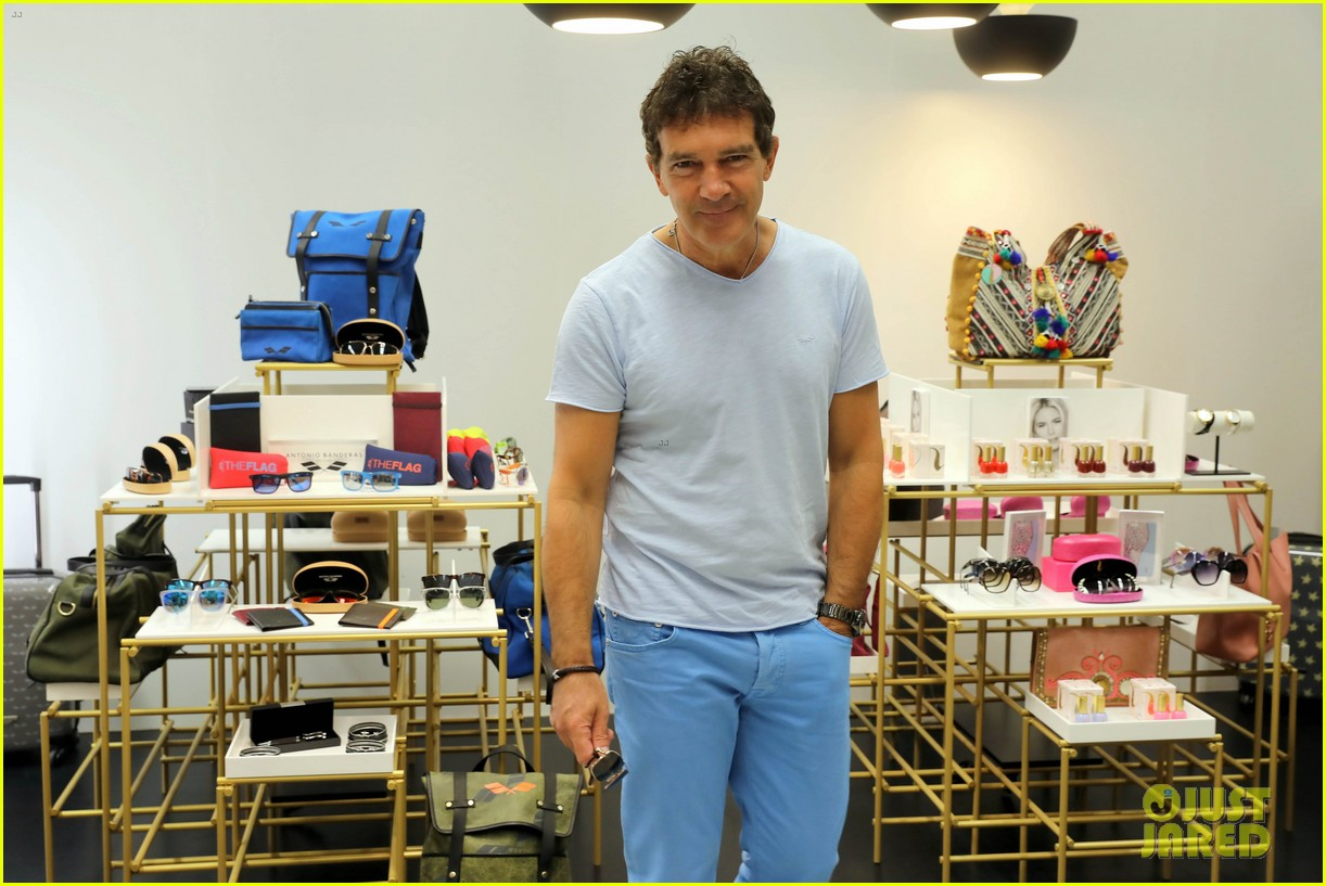 antonio banderas launch valeria mazza designs 083941175
