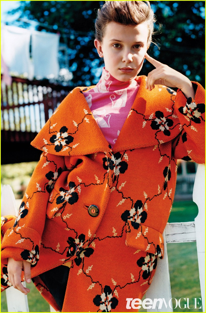 Drew Barrymore Interviews Millie Bobby Brown for 'Teen Vogue ...