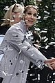 Photo 12 of Celine Dion & Her Twins Exit Their Hotel to a Confetti Shower!