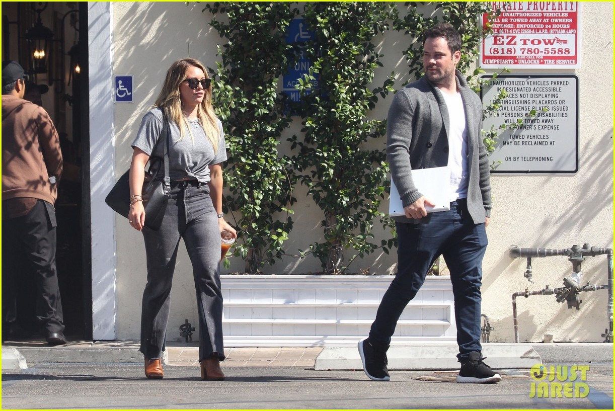 hilary duff ex mike comrie reunite 053948629